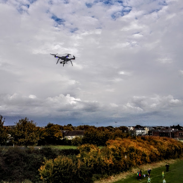 User Experience – The Drone at the Instameet Dublin 2016.